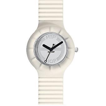 Hip hop horloge pols horloge siliconen horloge held kleine HWU0010 vanille