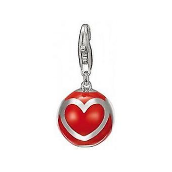 ESPRIT подвеска шарм серебро сердце красный шар ESZZ90777C000
