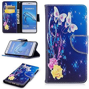 Kieszeń na portfel motyw 27 dla Huawei honor 6C / 6S cieszyć się pokrywa case Etui ochronne etui