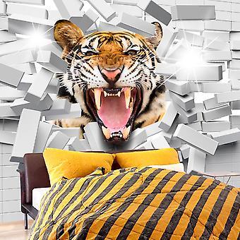 Fotomural - Tiger Jump