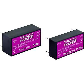 AC/DC PSU (Print) TracoPower TMLM 04115 15 V DC 0,267 A 4 W