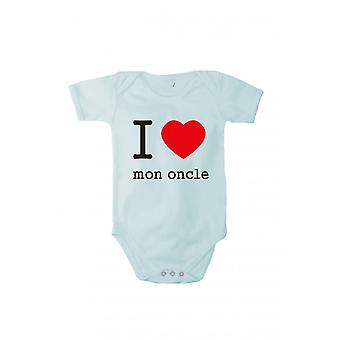 With pressure, I love my uncle 2 in various languages baby bodysuits