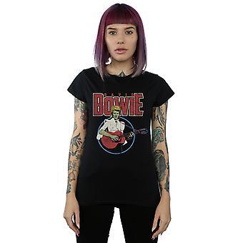 Acústico pirata t-shirt de la mujer de David Bowie
