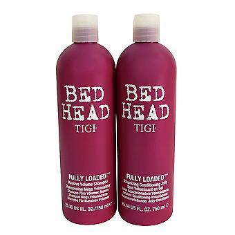 TIGI Bed Head Shampoo & Conditioner Fully Loaded Set 25.36 OZ ea