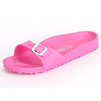 Birkenstock Eva Madrid Neon Pembe Eva 128303 evrensel tüm yıl kadın ayakkabı