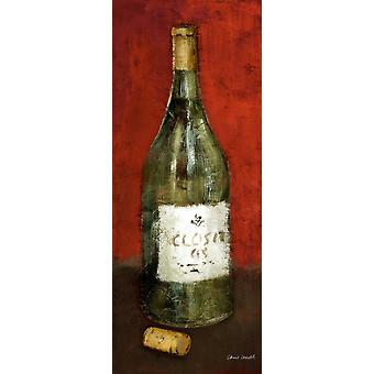 White Wine and Cork I Poster Print by Lanie Loreth