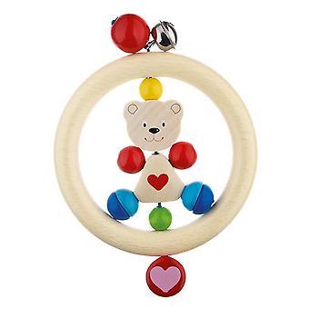 Heimess Touch Ring Rattle Heart Bear