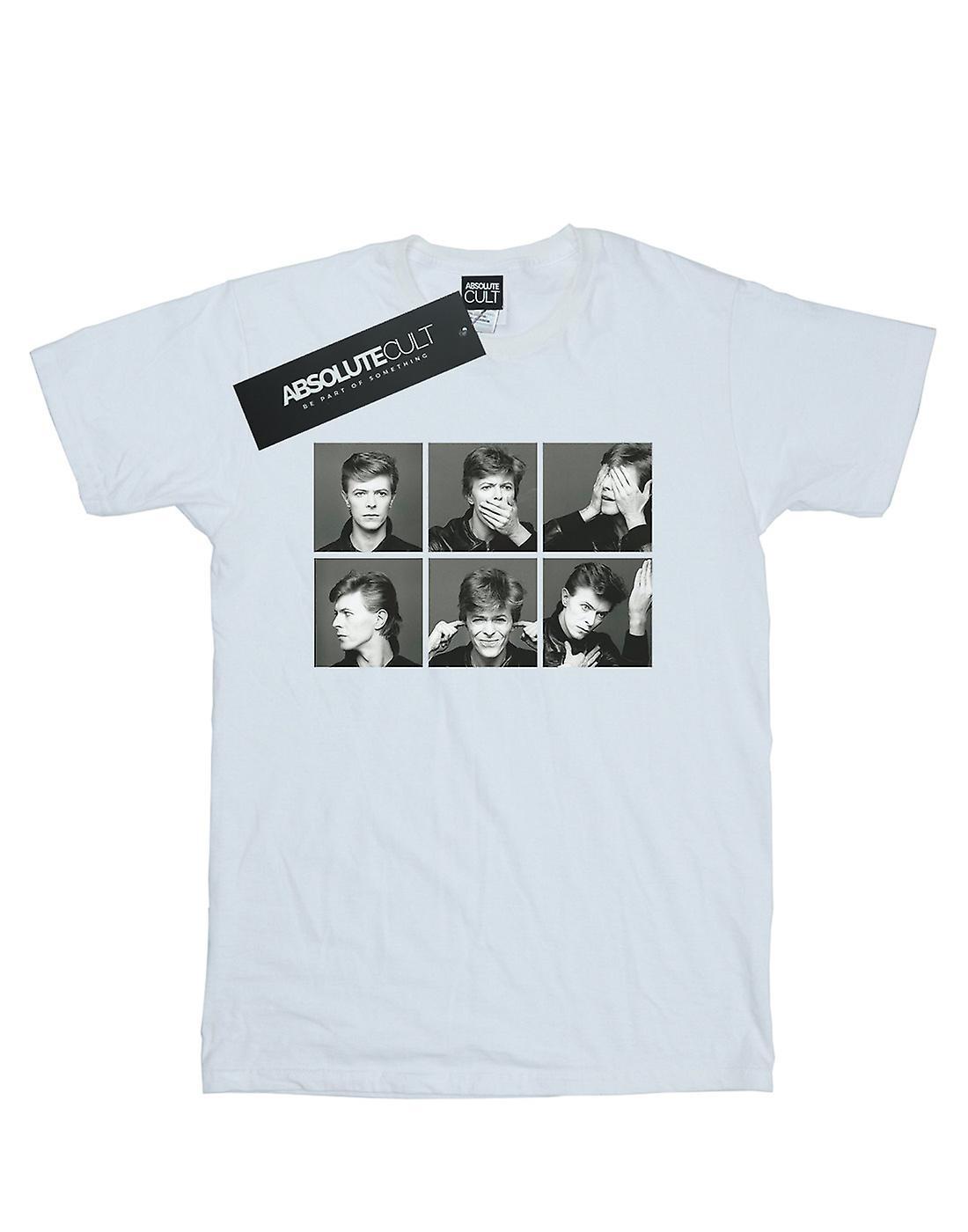 David Bowie Men's Photo Collage T-Shirt