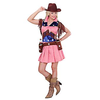 Rodeo Cowgirl kostym