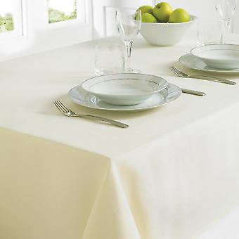 Country Club Table Cloth 130 x 228cm Cream