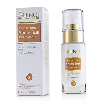 Youth Time Face Foundation - 2 - 30ml/0.88oz