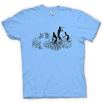 Kinder T-shirt - Banksy Graffiti-Kunst - Jäger