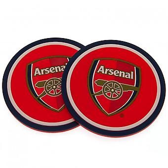 Arsenal FC Coaster Set (Pack Of 2)