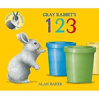 Grå kaninens 123 (lilla kanin böcker) [styrelse bok]