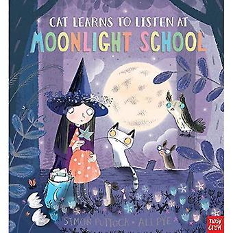 Cat Learns to Listen at Moonlight School (Moonlight School)