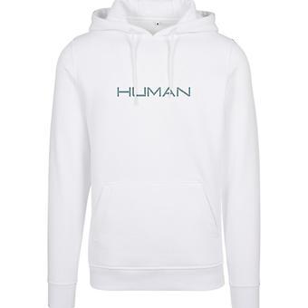 Merchcode Hoody - white HUMAN