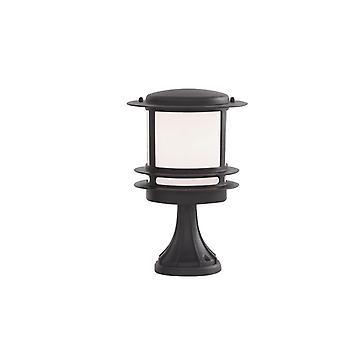 Stroud schwarz Outdoor-Sockel Licht - Searchlight 1264