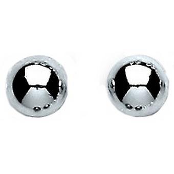 Bella 6mm helmi korvakorut - Silver