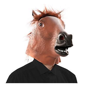 Paard masker paard mask masker LaTeX rubber masker volwassene