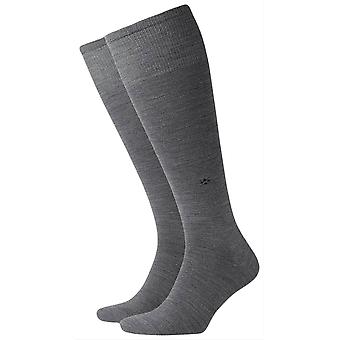 Burlington Leeds Knee High Socks - Dark Grey