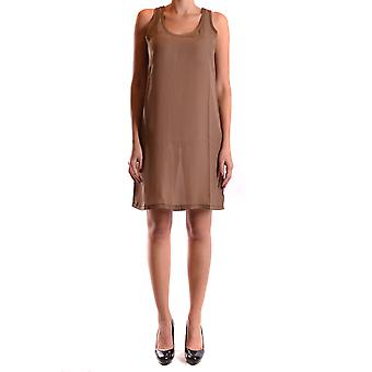 Liviana Conti Ezbc261018 Dames's Beige Polyester Dress