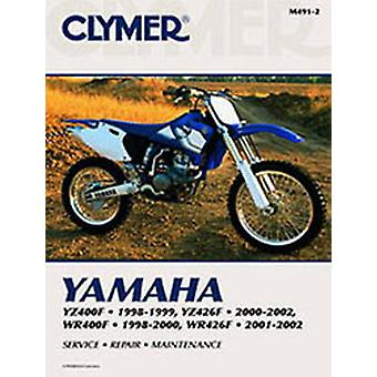 Yamaha YZ 400 YZ426F WR400F98-02 (2nd) by Penton - 9780892879137 Book