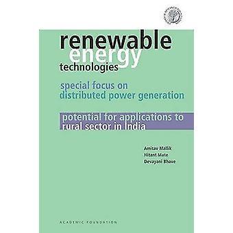 Renewable Energy Technologies - Special Focus on Distributed Power Gen