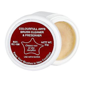 Colourfull Arts Brush Cleaner & Preserver 30g