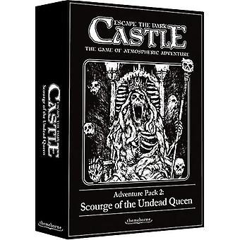 Adventure Pack 2 flagelo da rainha dos mortos-vivos fuja da expansão do castelo escuro