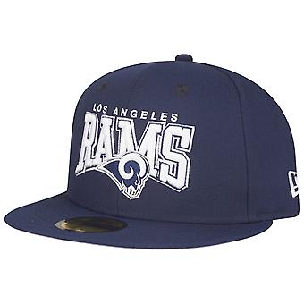 New Era 59Fifty Fitted Cap - NFL Los Angeles Rams navy