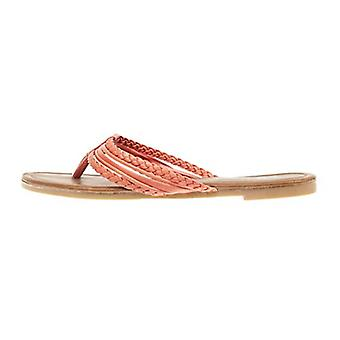 Sara Z naisten Triple punottu flip flop Thong sandaali