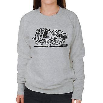 Grim My dog Chase sweatshirt til kvinder