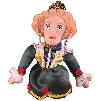 Finger Puppet - UPG - Queen Elizabeth Soft Doll - Licensed - 0519