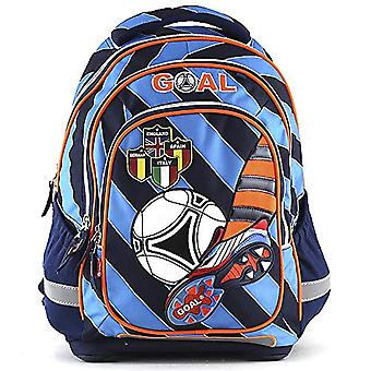 Goal 00743 Children's backpack - Light Blue/Orange/Black