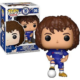 English Premier League Chelsea David Luiz Pop! Vinyl
