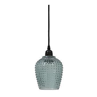 Licht & Living Hanging Pendant Lamp D13x24cm Berdina groen