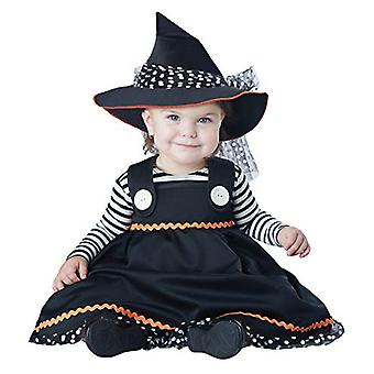 California Costumes Baby Girls Crafty Lil', Black/White, Size 6 Mo - 12 Mo