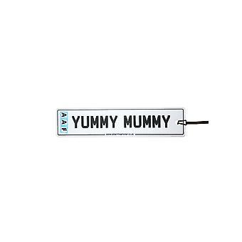 AAF - Yummy Mummy nummerskilt bil Air Freshener