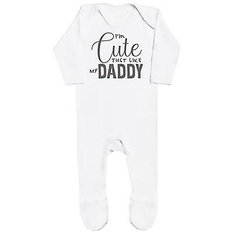I'm Cute Just Like My Daddy Baby Romper