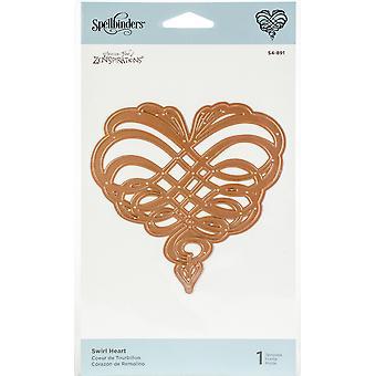 Spellbinders Shapeabilities Dies-Swirl Heart
