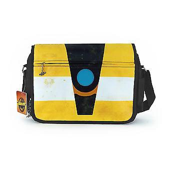 Borderlands 2 Messenger Bag Claptrap colorful, printed, polyester.