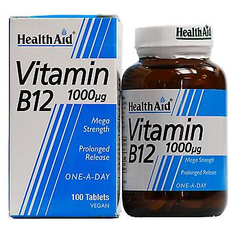 Health Aid Vitamin B12 Daily Supplement Capsules