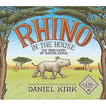 Rhino in het huis: het verhaal van het opslaan van Samia