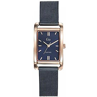 Shows Go Girl Only 695157 - Bracelet steel blue steel Dor Rose wife case Milanese