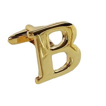 Gold Cufflink Carta B