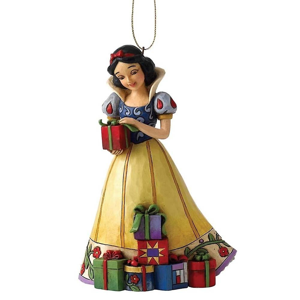 Disney Traditions Christmas Snow White With Presents Hanging Ornament