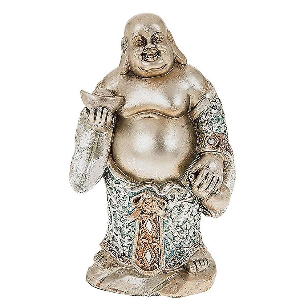 Shudehill Giftware Happy Blue Buddha Stand Small