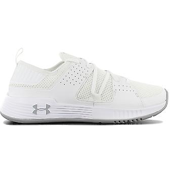Under Armour Showstopper 2.0 3020542-102 Chaussures homme Chaussures blanches Chaussures de sport Chaussures