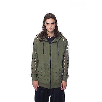 Military Green Sweatshirt Nicolo Tonetto Man