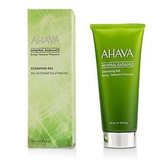 Ahava Mineral Radiance Cleansing Gel - 100ml/3.4oz